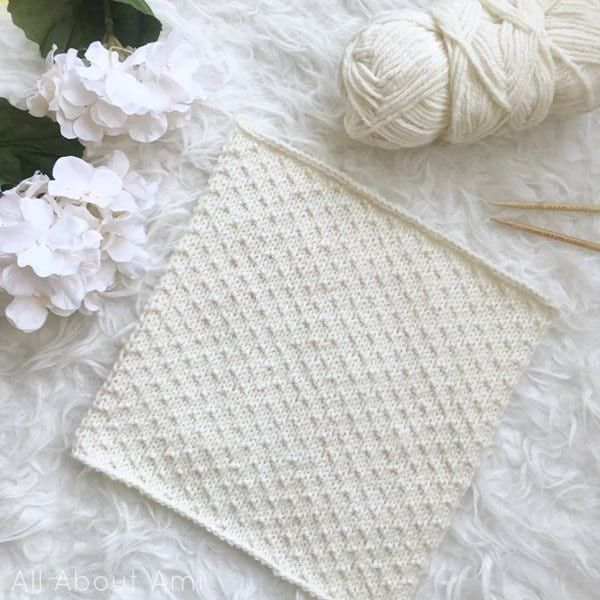 Traveling Knit Afghan Square 5 | Knitted afghans, Knitted ...