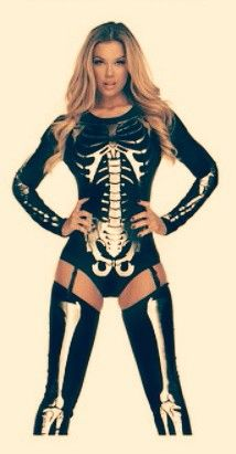 Sexy skeletal costume ... Must have ...