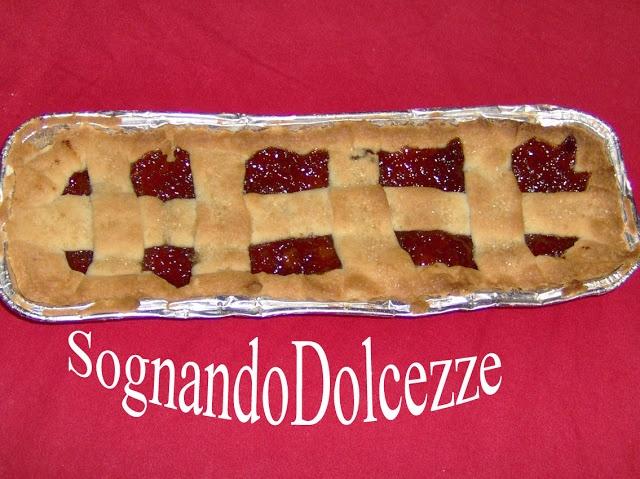 Sognando Dolcezze: Crostata di Buddy con Marmellata di Pesche fatta da Me.