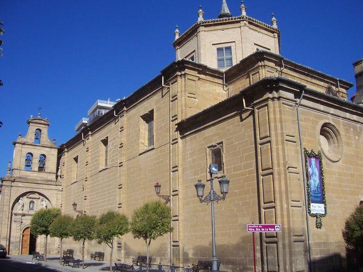 Basílica de Nuestra señora de la Vega, en  Haro