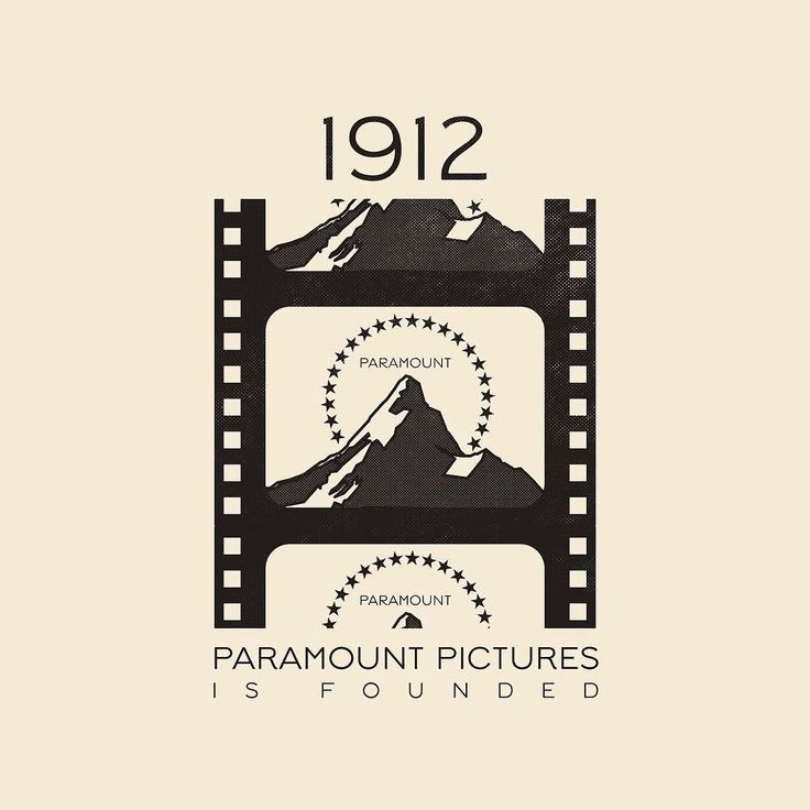This Day In History - May 8 - 1912 - Paramount Pictures is founded. --- #thisdayinhistory #todayinhistory #tdih #history #onthisday #minimal #minimalism #simple #minimalist #texture #adobe #illustration #vector #365project #facts #paramount #viacom @paramountpics #hollywood #entertainment #movies #television #tv #film #filmstrip #mountain #stars #logo #1912 #fact