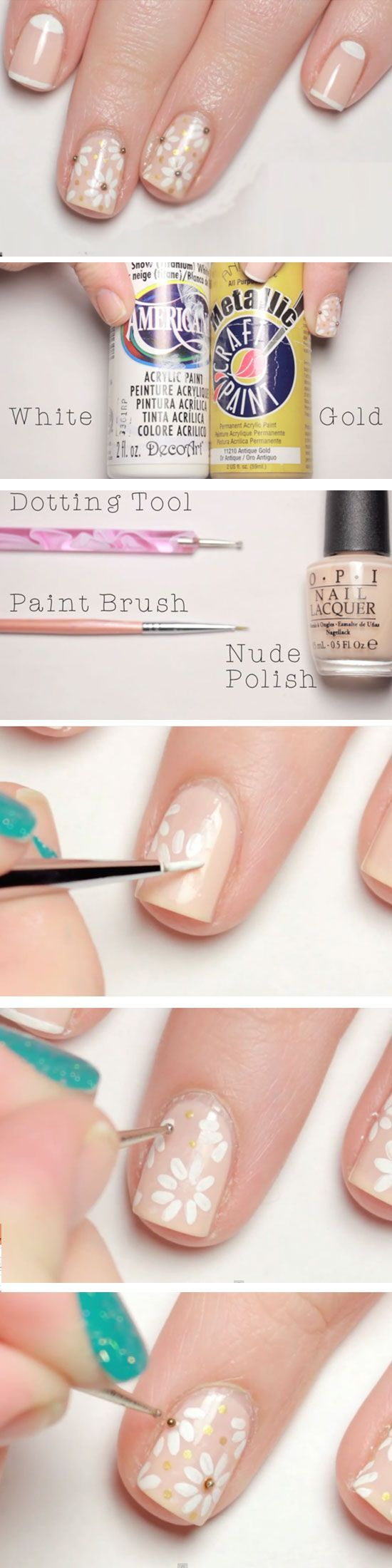 Soft & Subtle | Click Pic for 16 Easy Easter Nail Designs for Short Nails | DIY Nail Art for Teen Girls