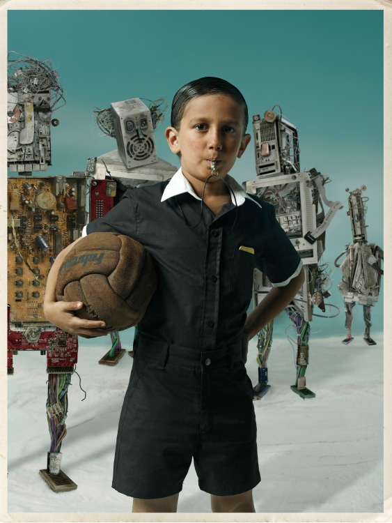 Our Childrens Earth - Trash is Not Trash, photographer Gaby Herbstein and illustrator Pablo Bernasconi