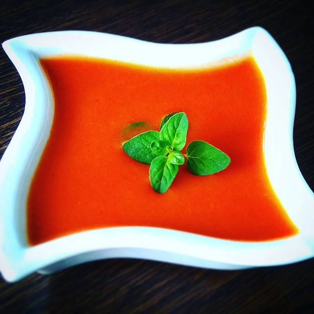 Kulinarna Schizofrenia: Zupa krem pomidorowa