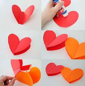 Guirnalda-de-corazones-de-papel