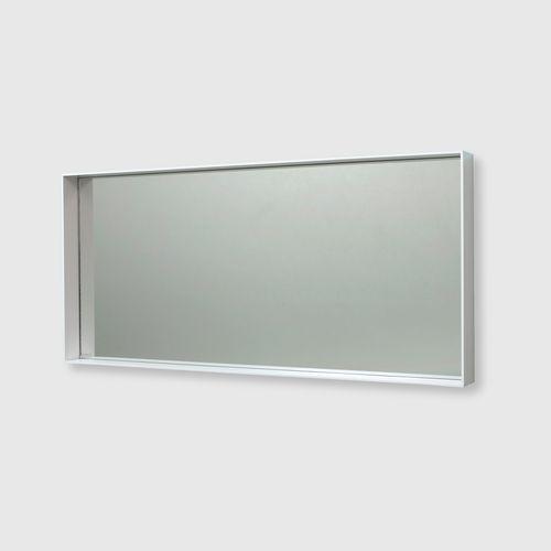 SPEGEL 6  W 111 x H 50 cm x D 8 cm  Oak / White / Black Oak