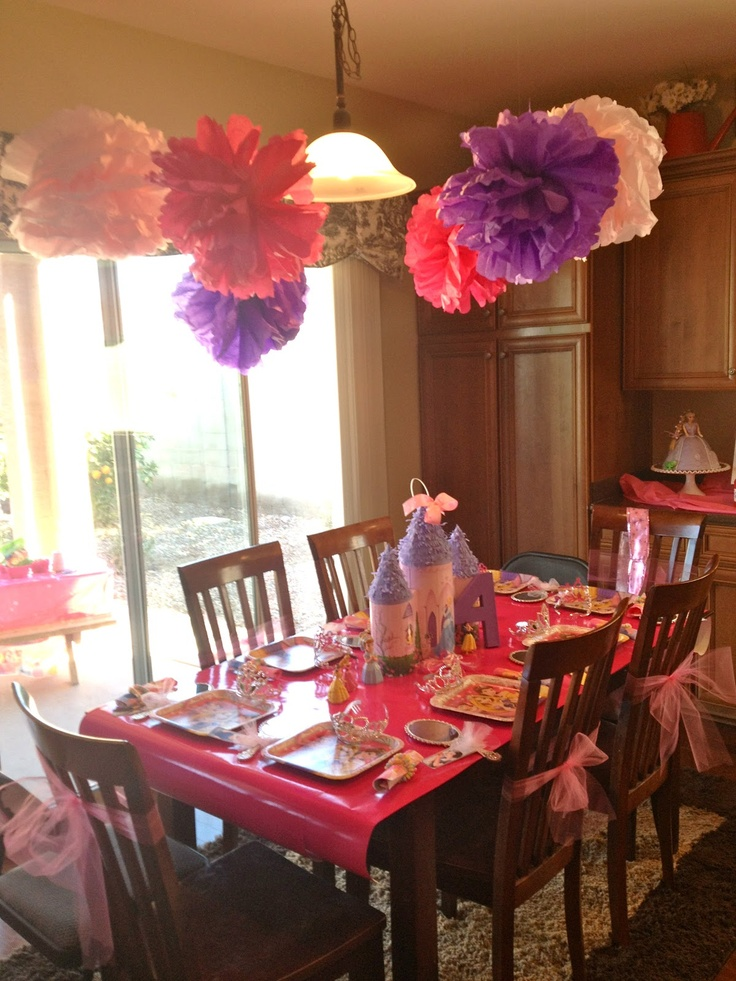 46 Best Princess Party Images On Pinterest Birthday Ideas