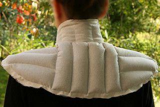 Tuto couture - bouillotte en graines de lin pour les cervicales - Etape 17