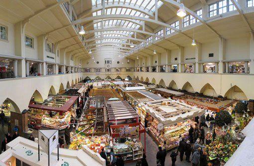 Die Stuttgarter Markthalle ist weit über die Grenzen der Stadt hinaus bekannt - eine solche Vielfalt sucht ihresgleichen. Foto: Leserfotograf mere http://www.stuttgarter-zeitung.de/