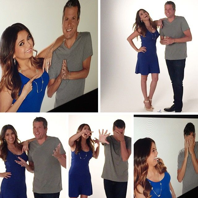 HSN Headshot photoshoot for newest HSN hosts Amy Bravo and Sean Daly