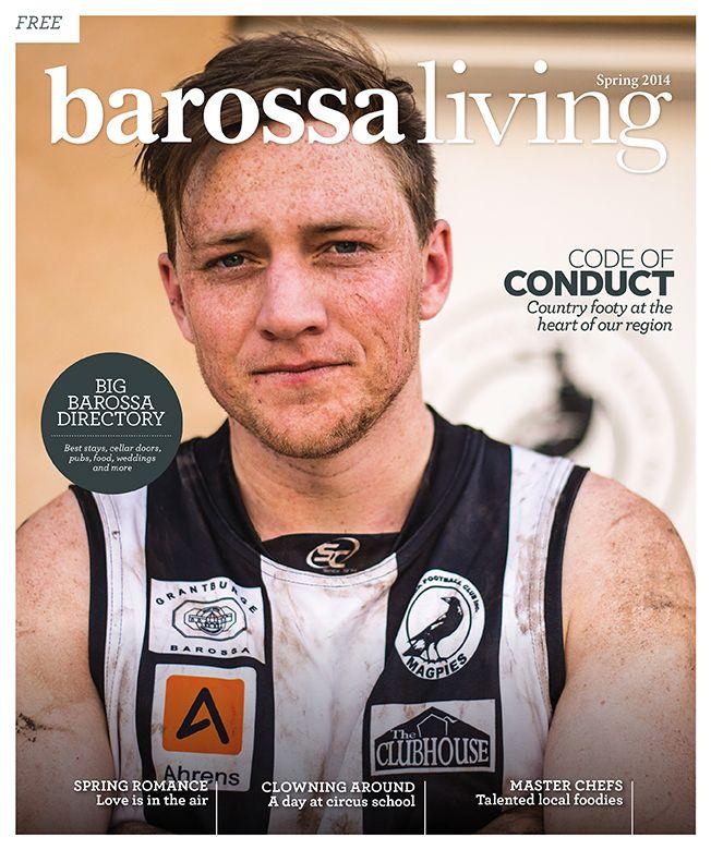 Jason Hamer - Creative Director for Barossa Living Magazine Spring 2014