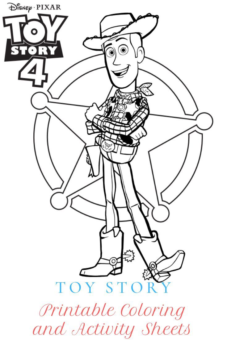 Disney Pixar S Toy Story 4 Printable Coloring And Activity Sheets Cleverly Me South Florida Lifestyle Blog Miami Mom Blogger Toy Story Coloring Pages Disney Coloring Pages Coloring Books