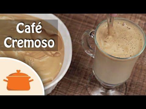 Café Cremoso igual de cafeteria - YouTube