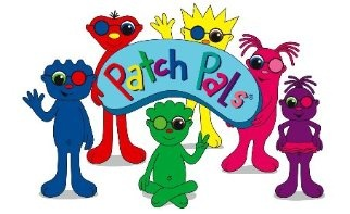 Patch Pals Eye Patches - Games both printable and online for kids to play while patching - great site to support having to do patching