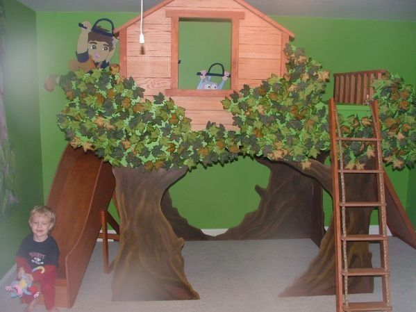 Kids Bedroom Tree House 41 best grand daughter's princess/tree house room images on