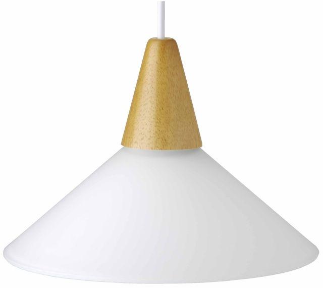 PASTELL - závesné svietidlo biele