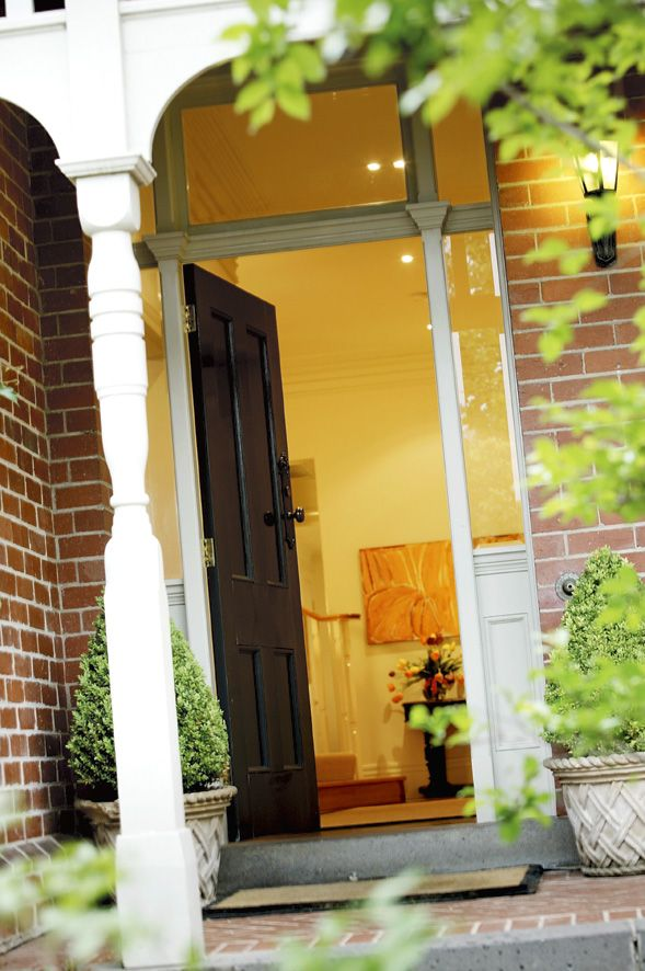 Front door, entrance,  Home renovation, constructed by Classic Projects