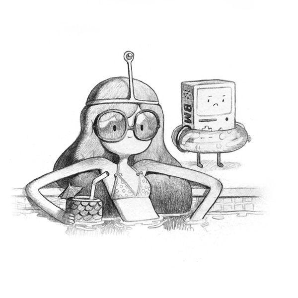 Adventure Time : Peebs and BMO