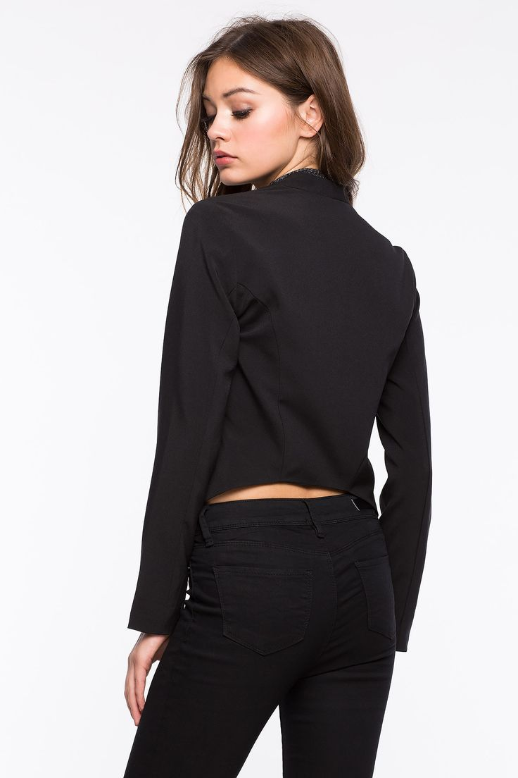 Пиджак Размеры: L, XL Цвет: черный, кофе с молоком/хаки Цена: 1261 руб.  #одежда #женщинам #пиджак #коопт