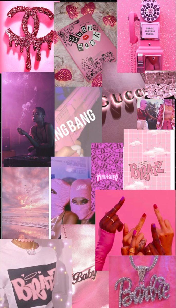 Pink Baddie Wallpaper Pink Wallpaper Anime Bad Girl Wallpaper Pastel Pink Aesthetic