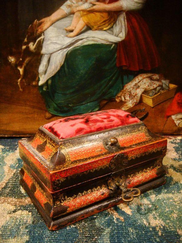 Coffret à Couture Pic épingles Epoque Louis XV, Antiquaires David Balzeau & Pascale Brion, Proantic