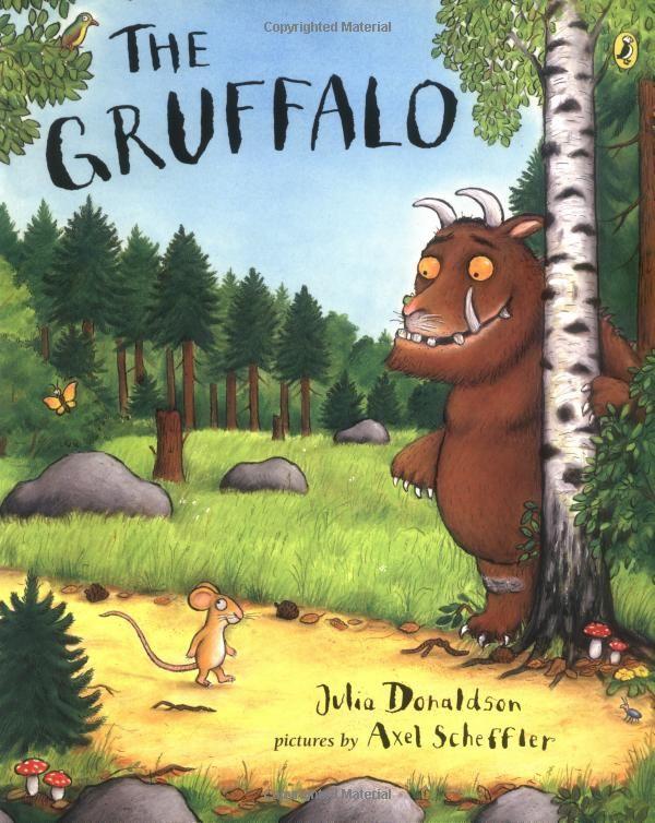 A Eliana le encanta. The Gruffalo by Julia Donaldson #Books #Kids #Gruffalo #Julia_Donaldson