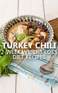 Dr Oz talked to fans who have found success with his 2-Week Rapid Weight Loss Diet. They shared their favorite lunch ideas, including one for Turkey Chili. http://www.drozfans.com/dr-oz-recipes/dr-oz-2-week-rapid-weight-loss-updates-easy-turkey-chili-recipe/