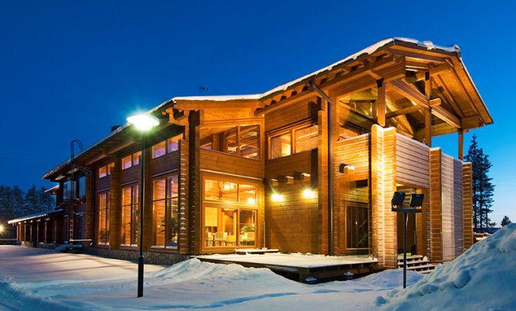 Immobilier de bureau Kontio maison bois sur 2 niveaux et 600 m². http://www.kontio.fr/index.php?284&prod_id=134
