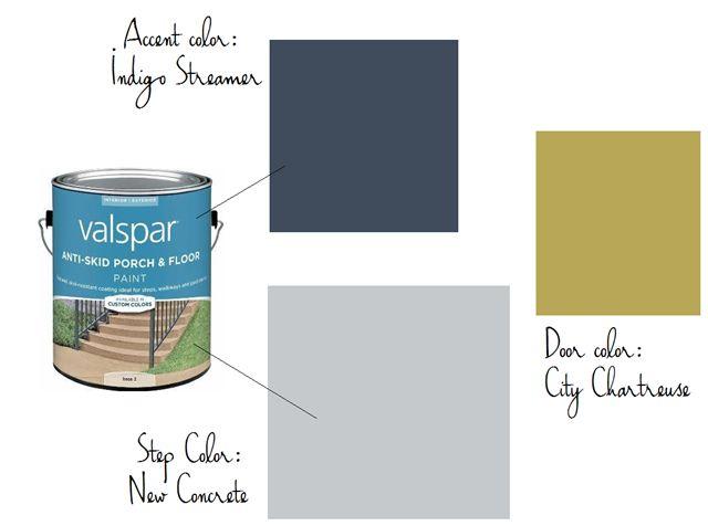 Patio, Paint, Colors