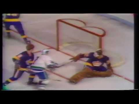 Watching Canucks w my man - here is a throwback to their first ever goal!