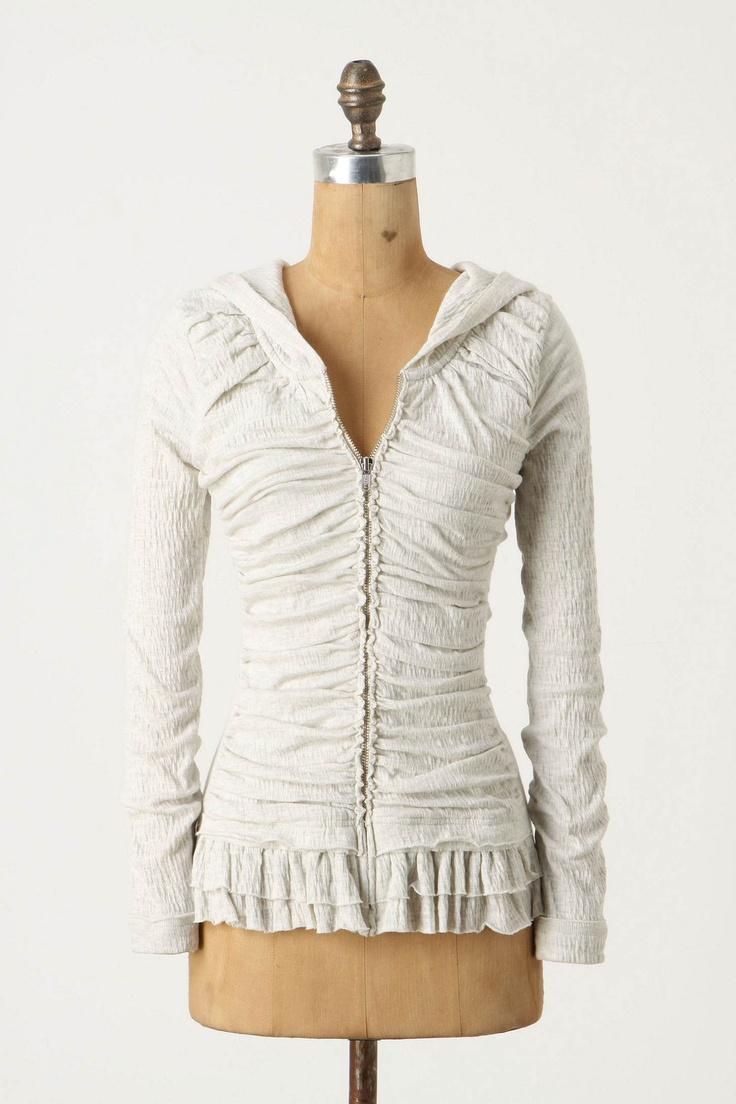 hoodie: Superflu Bellows, Fashion, Anthropology, Style, Bellows Hoodie, Clothing, Ruffles Hoodie, Girly Hoodie