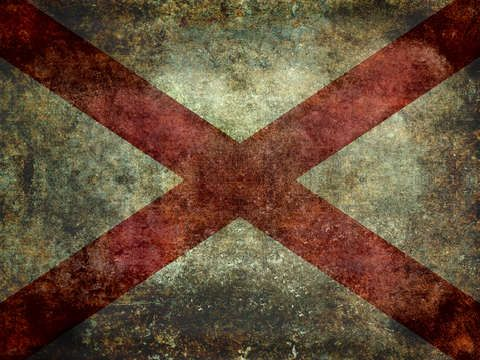 Check out 'Alabama state flag' by Bruce Stanfield on TurningArt