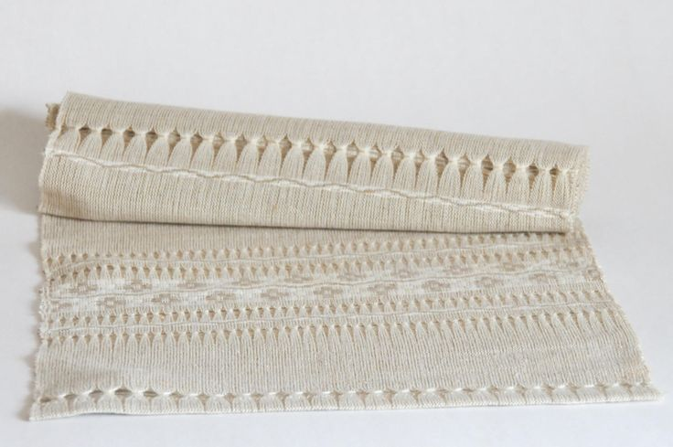 Swedish Handwoven linen Table Runner. Traditional Swedish crafts. Scandinavian Tablecloth. Mid century modern home decor - Vintage by FridasVintage on Etsy
