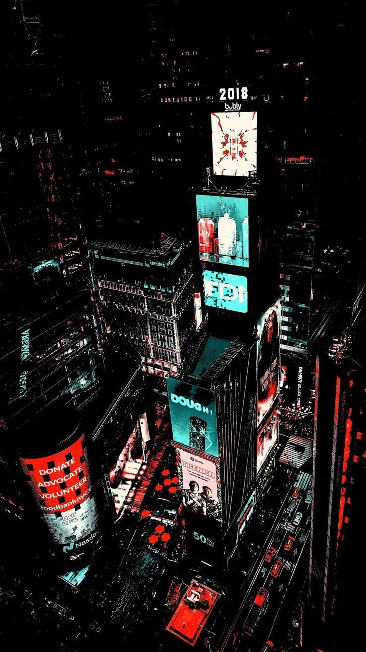 Times Square Amoled Neon wallpaper, City wallpaper