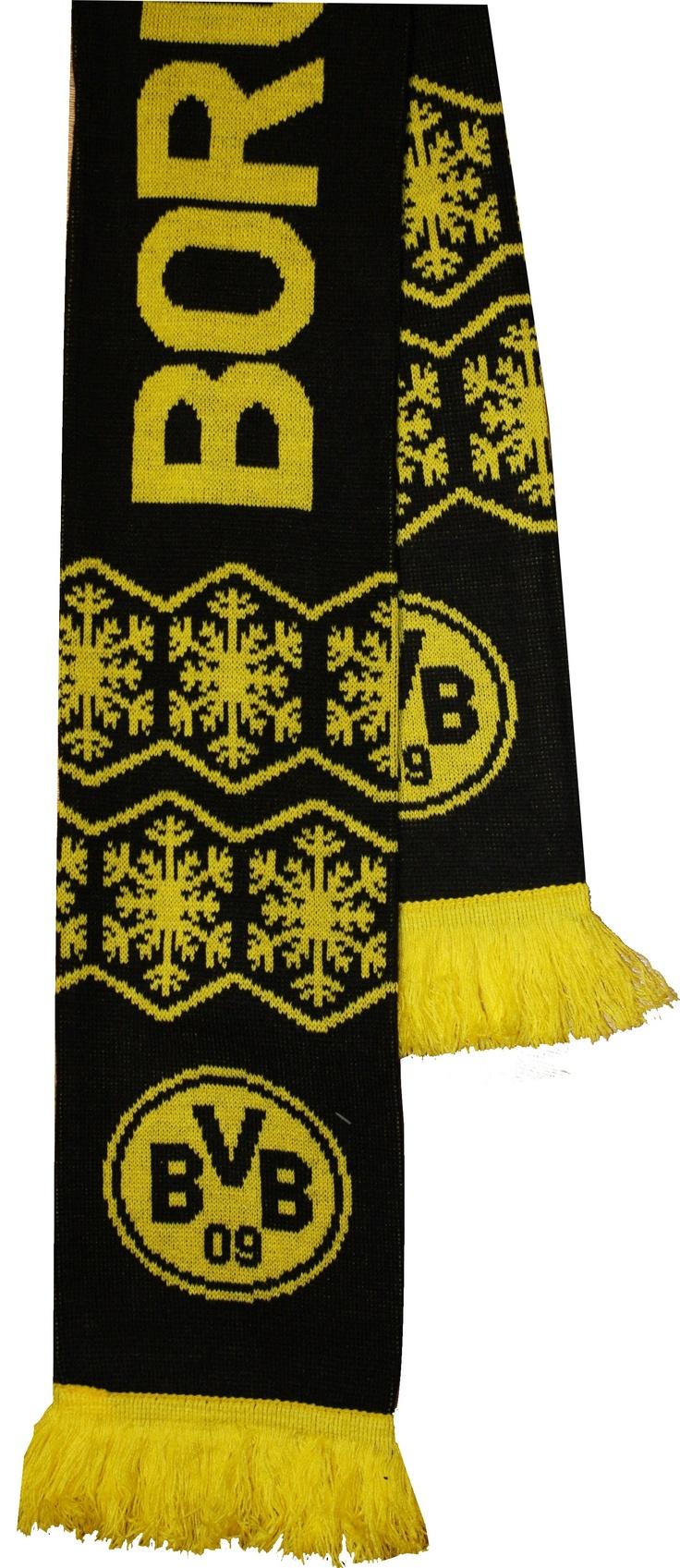 Sampiyon Sport / Acrylic Knitted  BVB Borussia Dortmund   Jacquard Scarf - SS2115