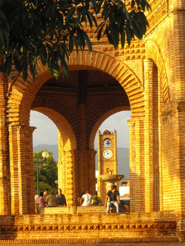 Chiapa de Corzo.  Town Square. - Chiapas - MEXICO.