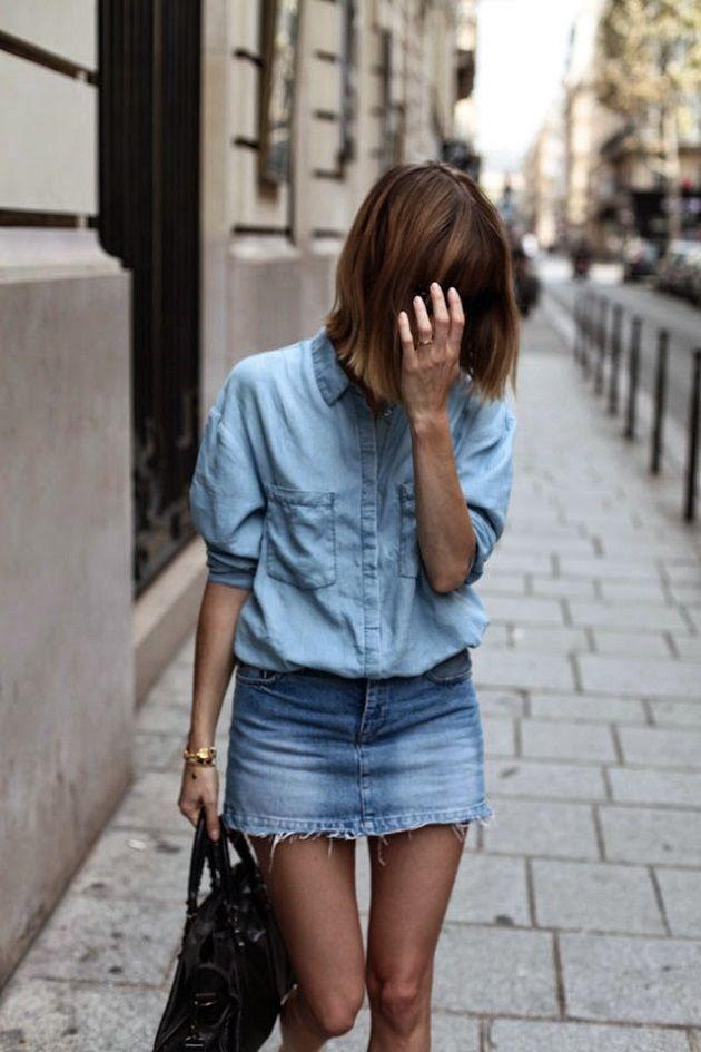 SS 2016 TRENDS: DENIM MINI SKIRT Time for Fashion waysify