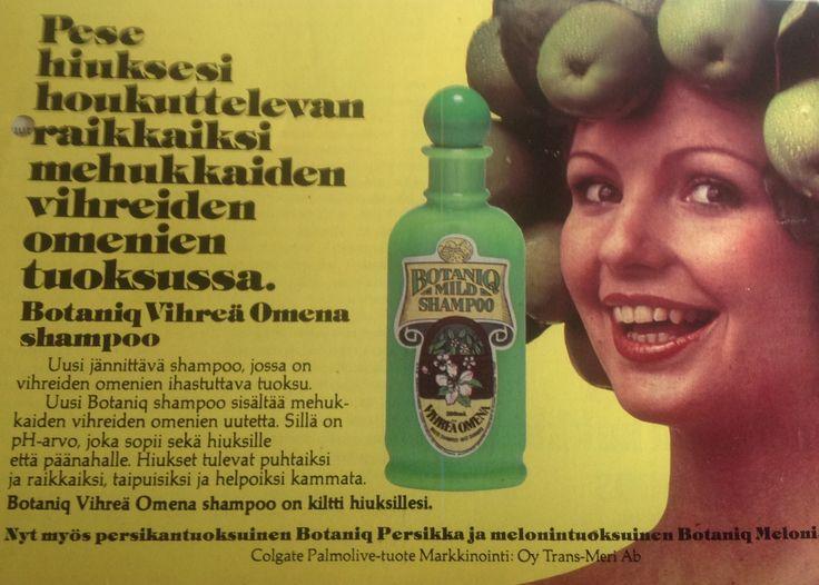 Botaniq shampoo mainos