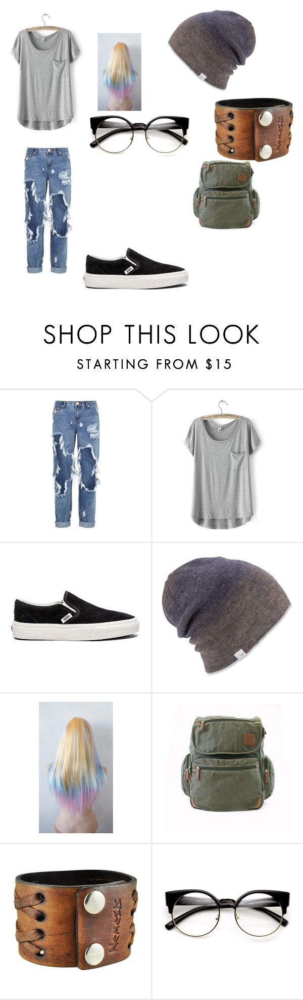 """Untitled #36"" by kendall-fosbender ❤ liked on Polyvore featuring One Teaspoon, Vans, Coal, Field & Stream and Nemesis"