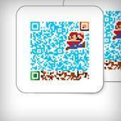This online QR generator lets you create colorful codes, and embed photos and logos into them. You can even edit the colors of individual pixels that form the QR code.