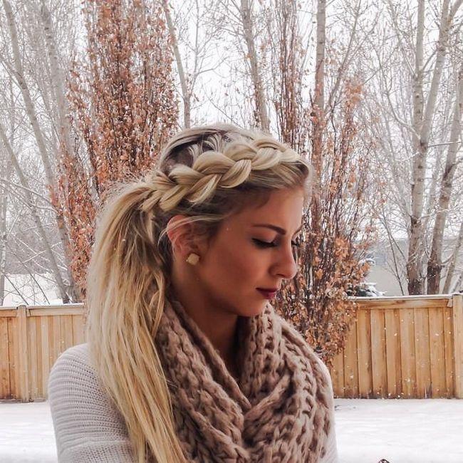nice Прически с косами (55 фото) - Плетения на средние и длинные волосы