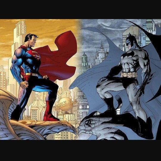 Man Of Steel vs The Dark Knight..