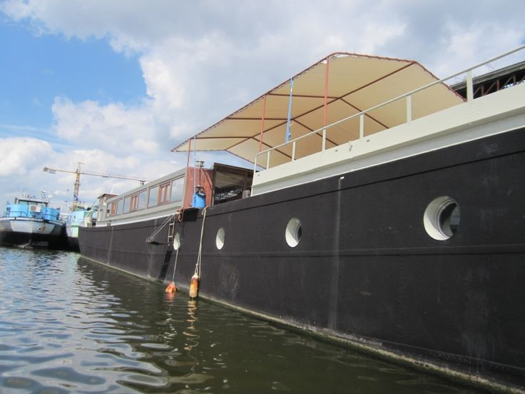 Best Boten Images On Pinterest Houseboats Boats And Dutch Barge - Custom houseboat graphicshouseboatgraphicscom linkedin