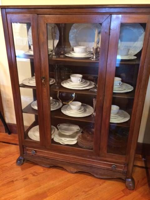 Pin By Clove On Dining Room China Cabinet Decor