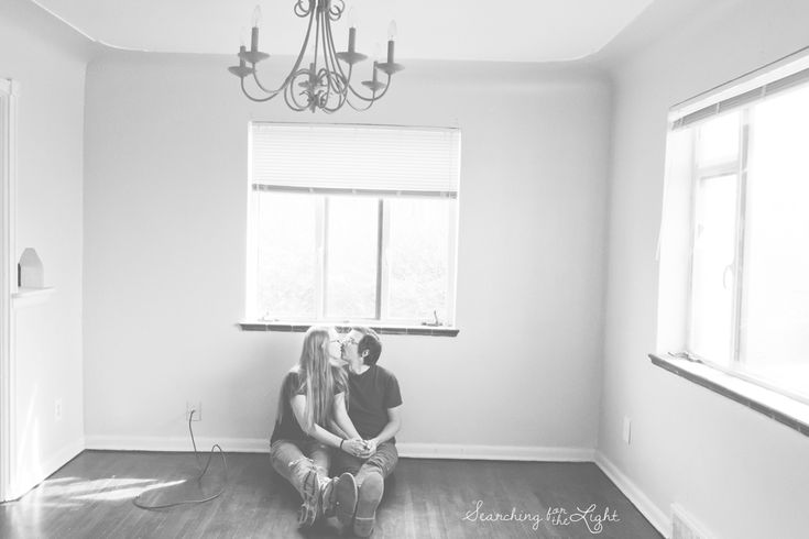 Take photos the day you move into your new home. This is the story of a Denver Wedding Photographer and her husband getting their first home.