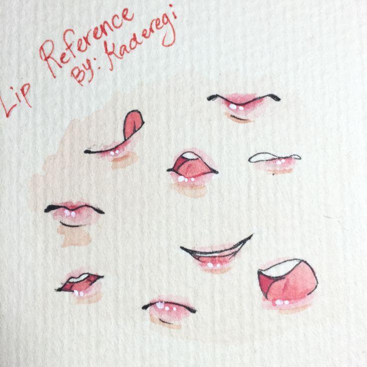Best 25 Anime Lips Ideas On Pinterest