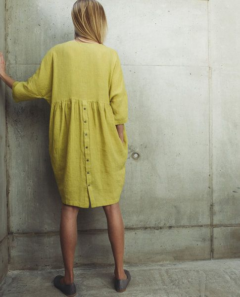 Linen Dress MOTUMO