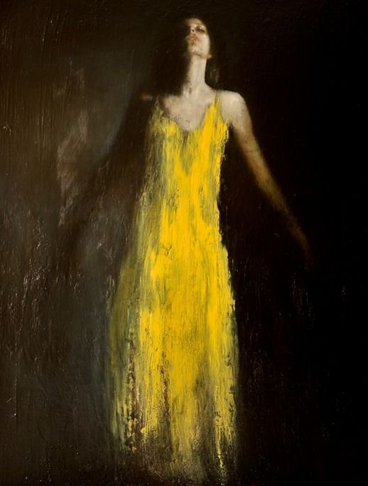 Ascending, oil on canvas, 51ins x 39ins. £22000 By Mark Demsteader