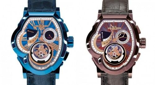 VDB Legend T. Crown Tourbillon de VAN DER BAUWEDE