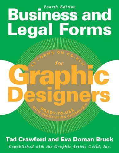 217 best book images on pinterest books design and entrepreneur business and legal forms for graphic designers by eva doman bruck httpwww fandeluxe Choice Image